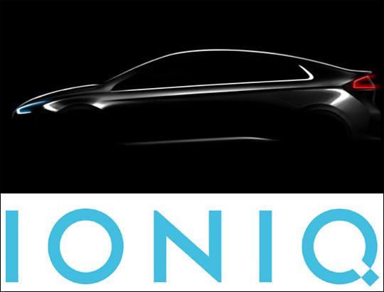 현대차 하이브리드·전기차 '아이오닉' 명명…내달 출시