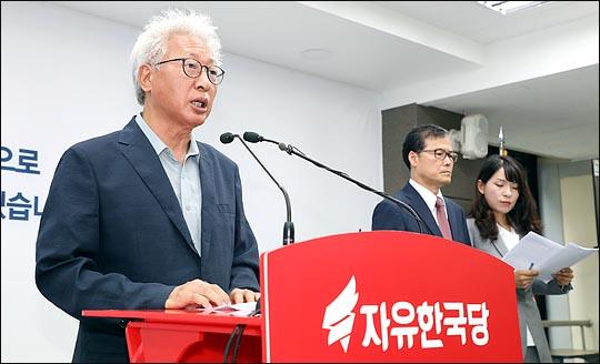 류석춘 자유한국당 혁신위원장 ⓒ데일리안 박항구 기자