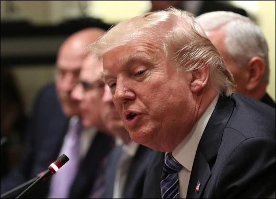 사진은 도널드 트럼프 미국 대통령. ⓒ연합뉴스