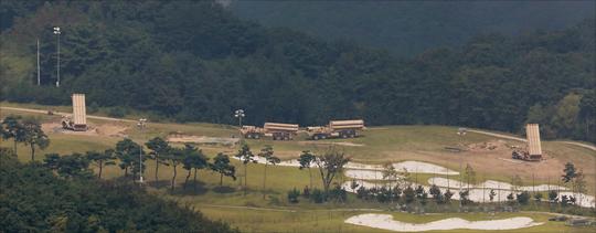 사진은 경북 성주군 사드기지. ⓒ데일리안 홍금표 기자