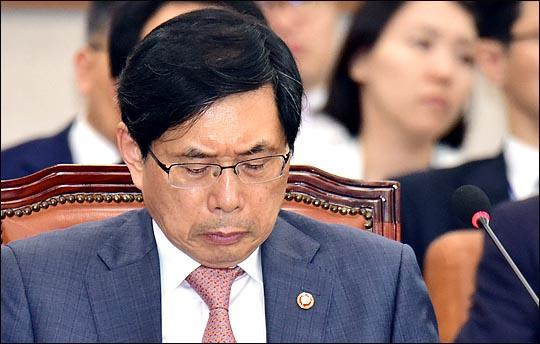 박상기 법무부 장관 (자료사진) ⓒ데일리안 박항구 기자