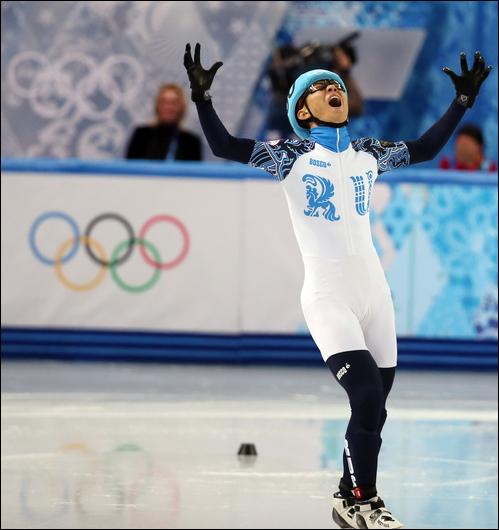 빅토르 안의 평창동계올림픽 출전이 막힐 위기에 놓였다. ⓒ 연합뉴스