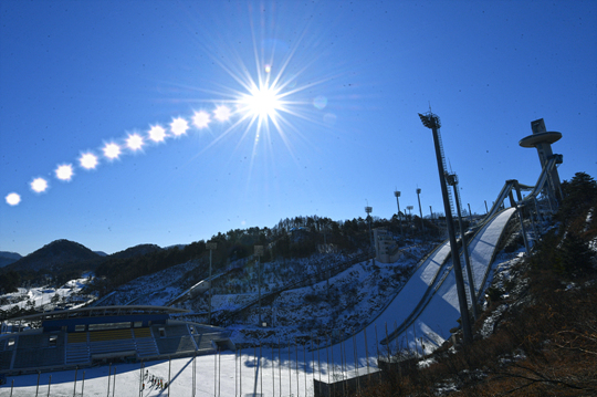 평창 올림픽 개막이 코앞으로 다가왔다. ⓒ 데일리안 홍금표 기자