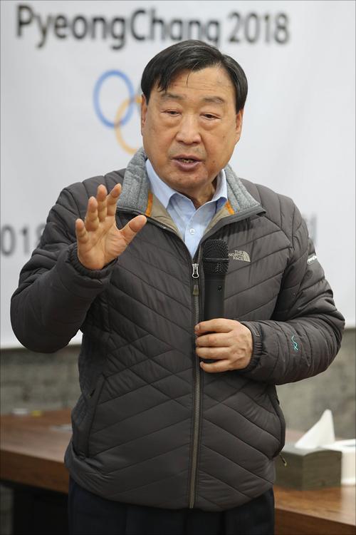 이희범 조직위원장. ⓒ 데일리안 홍금표 기자