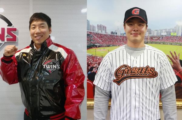 LG와 롯데로 이적한 김현수와 민병헌. ⓒ LG 트윈스, 롯데 자이언츠