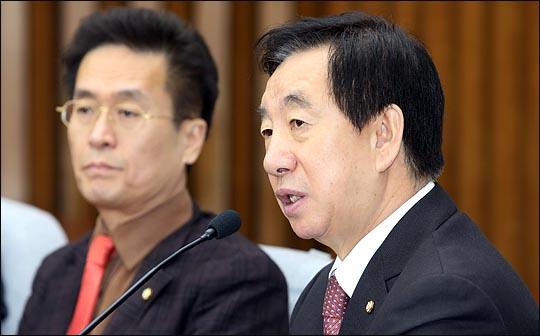 자유한국당 김성태 원내대표. (자료사진) ⓒ데일리안 박항구 기자