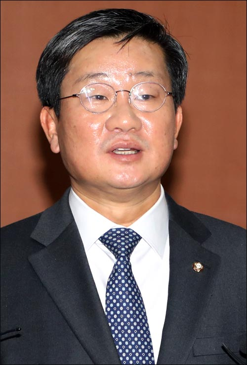 전해철 더불어민주당 의원 ⓒ데일리안 박항구 기자