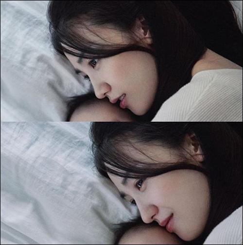 박하선이 출산 후에도 변함없는 미모를 자랑했다. ⓒ 박하선 인스타그램<br />