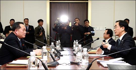 평창 동계올림픽이 한 달여 앞으로 다가온 가운데, 정부가 북측 평창올림픽 참가와 관련 남북 실무회담을 제안했다.(자료사진) ⓒ사진공동취재단