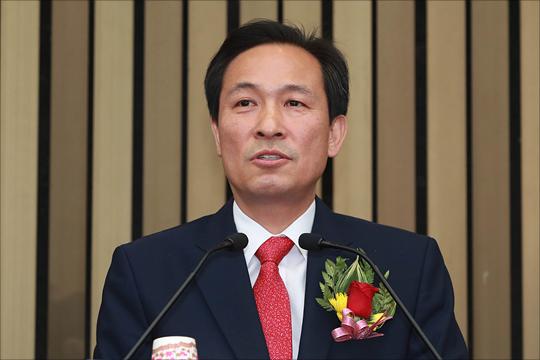 우상호 더불어민주당 의원(자료사진)ⓒ데일리안 홍금표 기자
