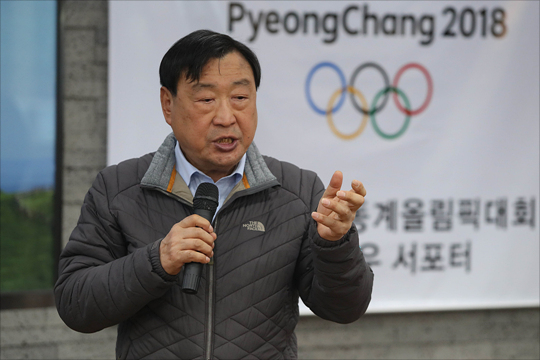 이희범 2018평창동계올림픽 및 패럴림픽 조직위원장. ⓒ데일리안 홍금표 기자