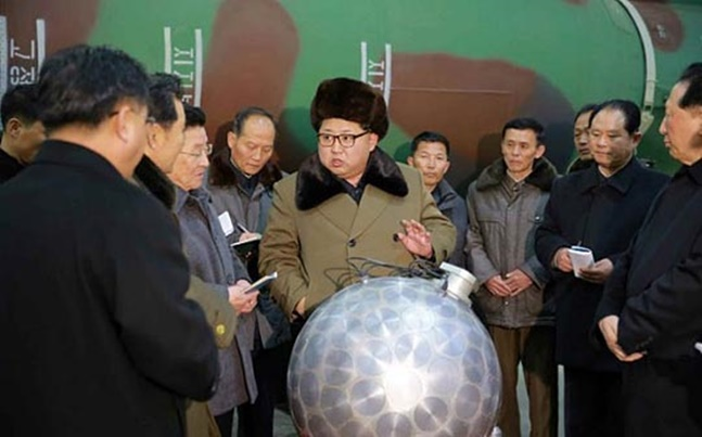 북한이 남북정상회담을 제안하면서 북핵 문제 해결의 전기가 마련될 수 있을지 주목된다.(자료사진) 노동신문 화면 캡처