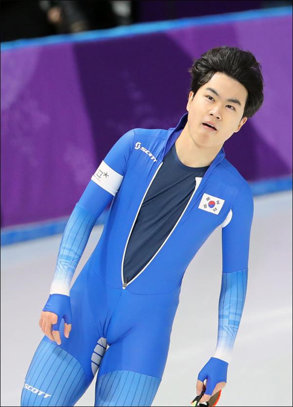 스피드스케이팅 남자 1500m에서 동메달을 획득한 김민석. ⓒ 연합뉴스