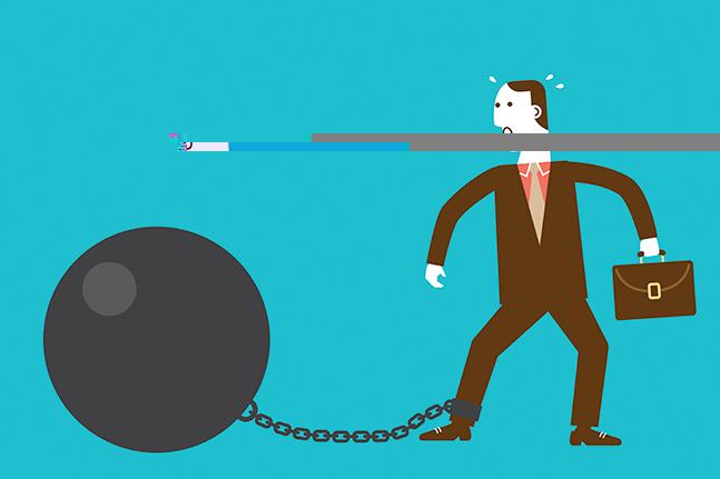 국내 주요 증권사들이 대주주 적격성에 발목을 잡혀 사업에 차질을 빚고 있다.ⓒ게티이미지뱅크