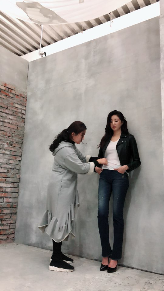 김사랑 무보정. ⓒ 레오인터내셔널