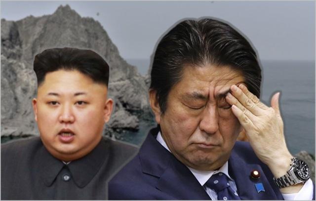 아베 신조 일본 총리(오른쪽)와 김정은 북한 노동당 위원장 ⓒ데일리안
