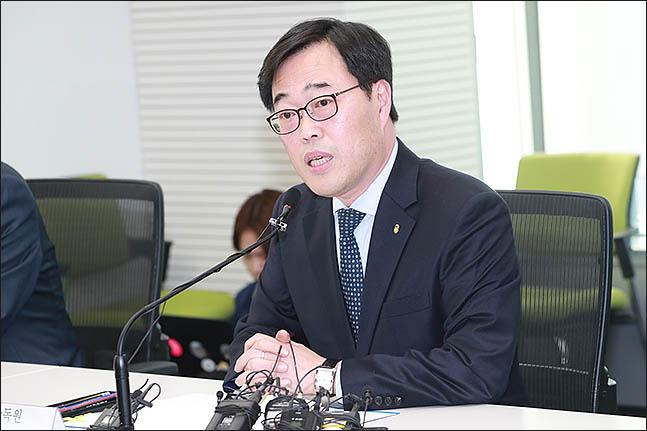 김기식 전 금감원장ⓒ데일리안 류영주 기자