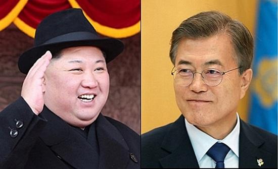 문재인 대통령과 김정은 북한 국무위원장은 이날 오전 9시 30분 판문점 군사분계선(MDL)에서 역사적인 첫 만남을 시작한다.(자료사진) ⓒ데일리안