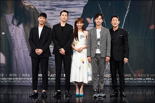 배우 김경남, 장기용, 진기주, 윤종훈, 허준호가 MBC 새 수목 드라마