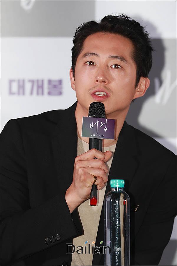 스티븐연(사진)과 전종서가 칸 현지에서 진행되는 한국 매체와의 인터뷰에 불참한다. ⓒ 데일리안 류영주 기자