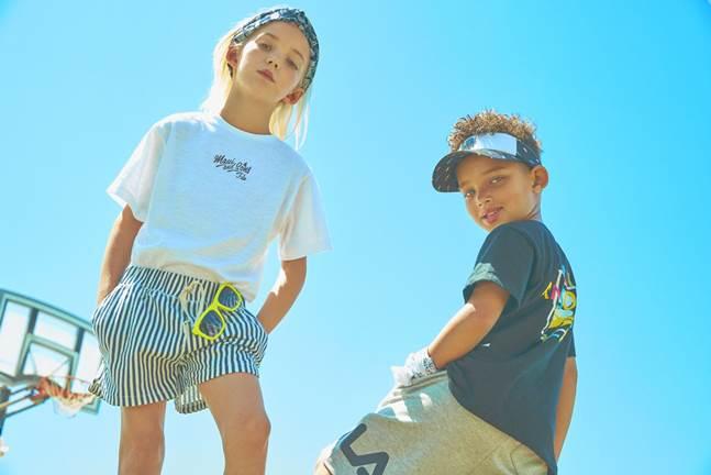 휠라는 미국 대표 서핑·스포츠 브랜드 마우이앤선즈(Maui&Sons)와 함께 '휠라X마우이앤선즈 컬레버레이션 컬렉션'을 론칭했다. ⓒ휠라