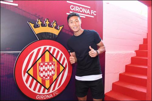 백승호가 다음 시즌부터 지로나 1군에서 활약하게 됐다. ⓒ 지로나 FC 홈페이지