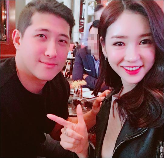 황재균-공서영 아나. 공서영 인스타그램 캡처