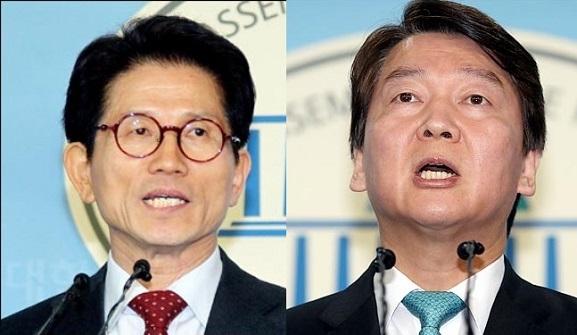 자유한국당 김문수 서울시장 후보(왼쪽)와 바른미래당 안철수 후보(오른쪽) 간 단일화 논의가 가시화하고 있다. (자료사진) ⓒ데일리안 박항구 기자