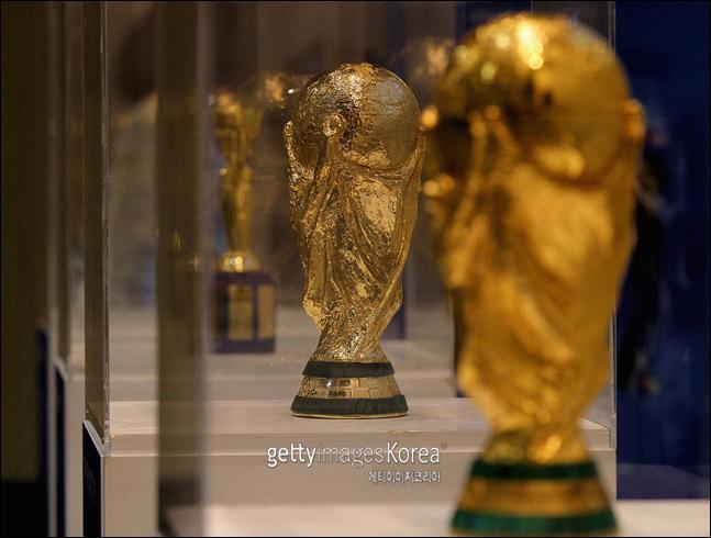 FIFA 월드컵 트로피. ⓒ 게티이미지