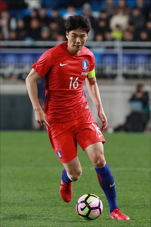 축구대표팀 주장 기성용. ⓒ 데일리안 홍금표 기자