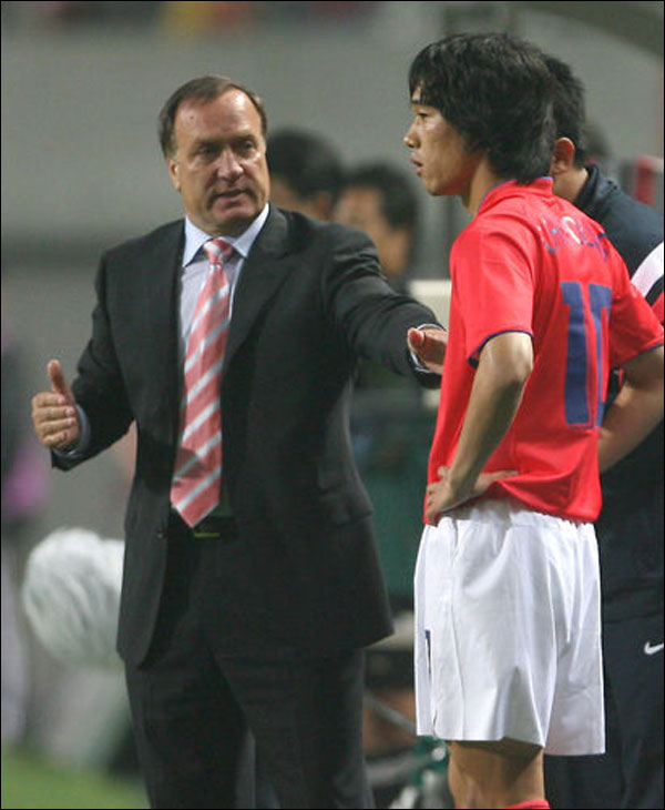 2006년 대표팀 막내로 독일 월드컵 무대를 밟은 박주영. ⓒ 연합뉴스