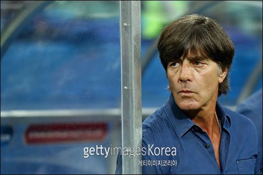 독일 대표팀의 뢰브 감독. ⓒ 게티이미지