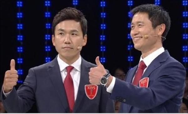 이영표(오른쪽) ⓒ KBS2TV