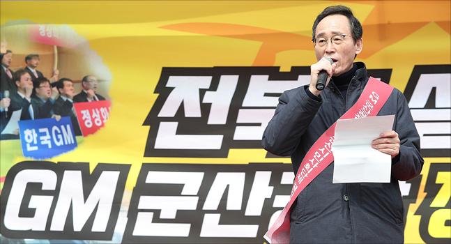 송하진 더불어민주당 전북도지사 후보의 당선이 확실시 되는 가운데, 송 당선자가 재선에 임하는 소회를 밝혔다.(자료사진) ⓒ데일리안 홍금표 기자