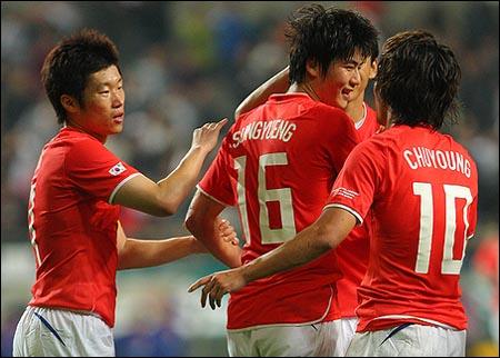 한국 축구 대표팀은