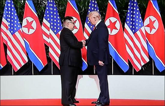 북한 비핵화에 대한 체제보장 조건으로 한미연합군사훈련 중단과 주한미군 철수 가능성이 거론되면서 한반도 안보지형을 흔들 수 있다는 우려가 나온다.ⓒ데일리안 DB