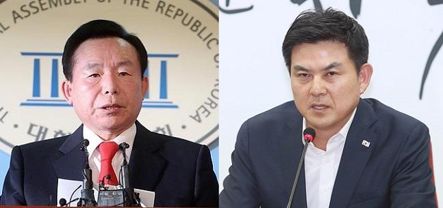 6·13 지방선거 자유한국당 이인제 충남지사 후보와 김태호 경남지사 후보 (자료사진) ⓒ데일리안