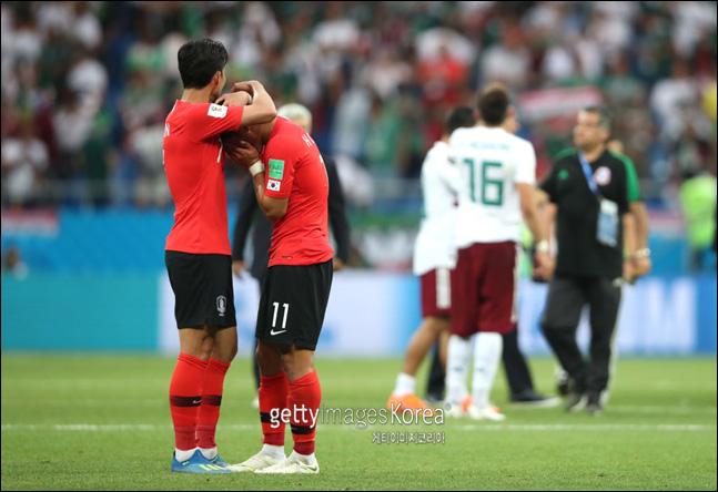 일본은 한국 축구의 추락을 남일로 보지 않고 있다. ⓒ 게티이미지
