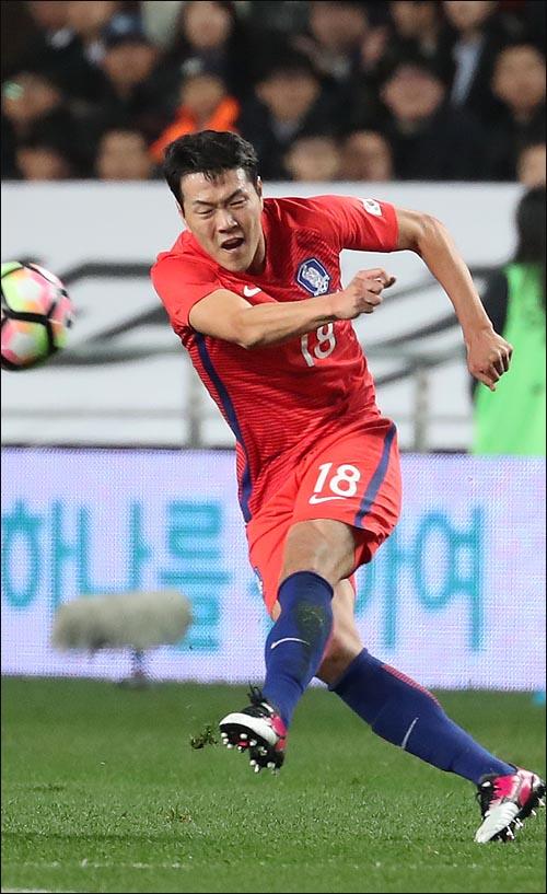 키커 선정 조별리그 3차전 베스트11으로 선정된 김영권. ⓒ 데일리안 박항구 기자