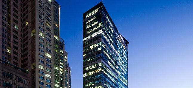 오는 25~27일 공모 예정인 '신한알파리츠'의 투자 대상인 용산더프라임 타워. ⓒ신한리츠운용
