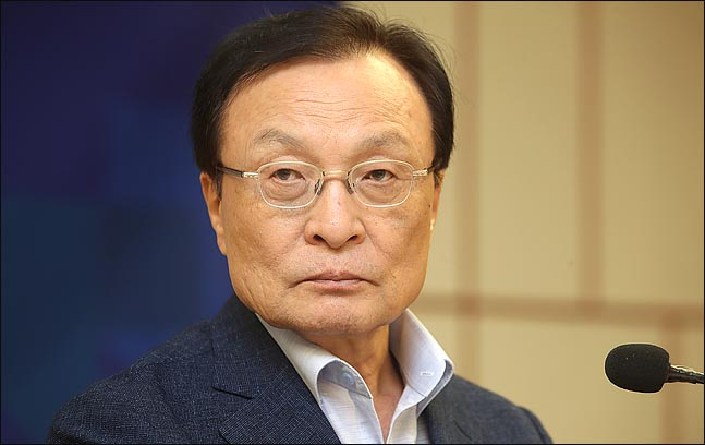 더불어민주당 당대표 후보로 나선 이해찬 의원. 1988년 국회의원에 당선돼, 30년째 정치를 하고 있다. ⓒ데일리안 박항구 기자