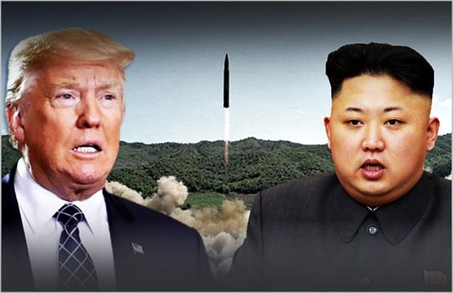 도널드 트럼프 미국 대통령(왼쪽)과 김정은 북한 국무위원장 ⓒ데일리안