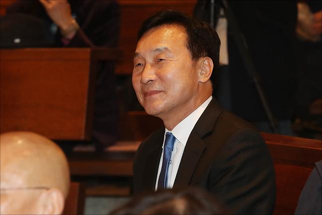 손학규 바른미래당 대표가 31일 오후 서울 정동 프란치스코 교육회관에서 열린