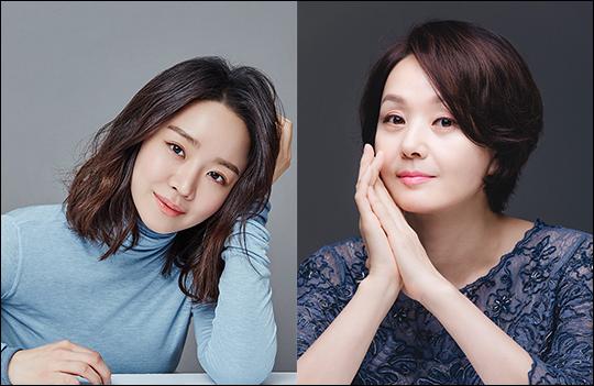 배우 신혜선(왼쪽)과 배종옥이 영화