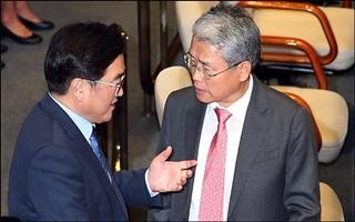 한국당에 '뺨'맞고 국민의당에 '화풀이'하는 민주당