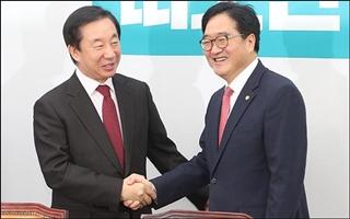 여야 3당 찾은 김성태…'한국당 패싱'은 패싱될까?