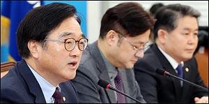 """우원식 """"정부 개헌안 발의 마지막 수단 되지 않아야"""""""