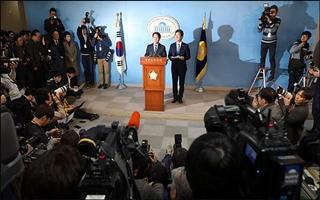 안철수·유승민 통합선언…安 서울시장 나오나