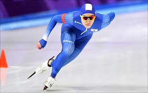 [평창2018] 차민규 '올림픽 첫 출전에 빛나는 은메달'