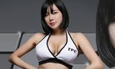 TFC걸 류지혜 복귀…역대급 풍만 바스트